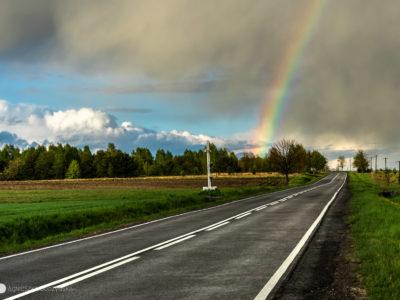 Droga i tęcza